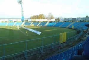 Starý štadión LOKY, bez krytých tribún
