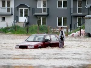 Povodne v roku 2010 ničili majetky