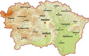 Východné Slovensko je tretinou našej krajiny